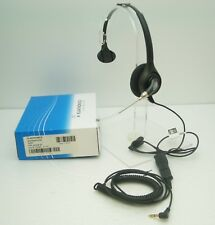 H251 Headset for Alcatel 4028 4029 4068 and Cellular phone with 3.5mm Phone Jack