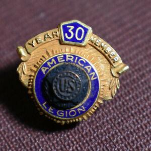 American Legion 30 Years Pin