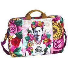 "UFFICIALE Frida Kahlo Messenger Borsa per Laptop 15.6"" pollici dispositivi Messico Designer"