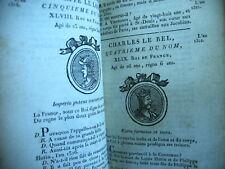 HISTOIRE instruction histoire France et Romaine LE RAGOIS 1806