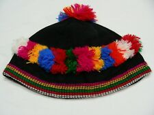 Negro con Colorido Estampados - Tamaño Bebé Sombrero de Pescador Sol Gorra