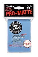 (600) ULTRA PRO Card Sleeves PRO-MATTE *LIGHT BLUE* DECK PROTECTORS MTG 12 Pack