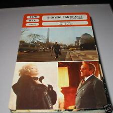 p- bienvenue Mr chance  French film trade card
