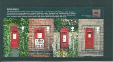 GB - MINIATURE SHEET - 2009 - POST BOXES - UNMOUNTED  MINT
