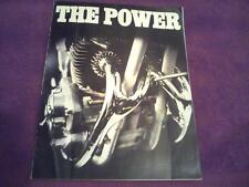1971 BSA motorcycle sales brochure(Reprint) Big 16 pages All 1971 BSA's $18.50