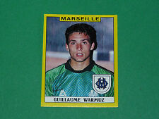 N°142 GUILLAUME WARMUZ OLYMPIQUE MARSEILLE OM PANINI FOOTBALL FOOT 89 1988-1989