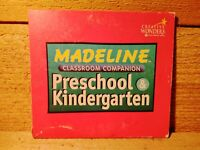Vintage Kids PC Game Madeline Preschool & Kindergarten Classroom Companion