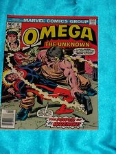 OMEGA THE UNKNOWN # 6, Jan. 1977, Steve Gerber / Jim Mooney, FINE Condition