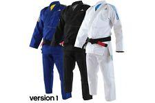 Adidas Contest BJJ Gi Mens IBJJF Jiu Jitsu Suit Black Blue White Uniform A1-A5