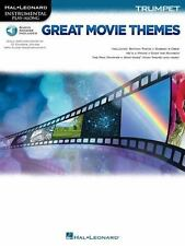 GREAT MOVIE THEMES FOR TRUMPET - PLAY-ALONG BOOK/ONLINE AUDIO 139147