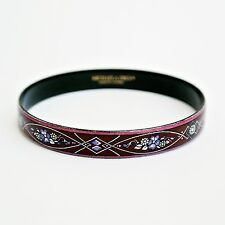 SMALTO MICHAELA FREY AUSTRIACO Fiori Bracciale Bangle