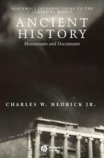 Blackwell Introductions to the Classical World: Ancient History : Monuments and…