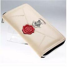Nuevo Oficial Harry Potter Carta Crema moneda y tarjeta cierre alrededor Bolso * vendedor del Reino Unido *