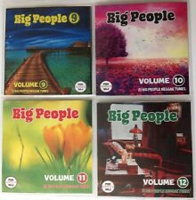 Big People Volumes 9-12 JUMBO Pack (Mature Reggae Music) Exclusive Promo CDs