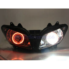 HID Headlight Assembly Projector Red Eyes For Yamaha YZF-R1 2002 2003