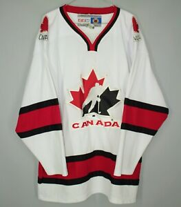 CANADA NATIONAL TEAM ICE HOCKEY SHIRT JERSEY VINTAGE CCM SIZE L