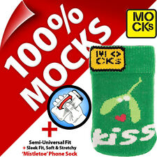 Mocks Mistletoe Mobile Phone MP3 Sock Case Cover Pouch for iPhone 4S 5 5S 5C SE