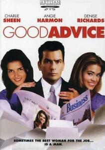 Brand New WS DVD Good Advice Charlie Sheen Denise Richards Angie Harmon