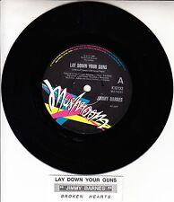 "JIMMY BARNES  Lay Down Your Guns COLD CHISEL 7"" 45 record + juke box title strip"
