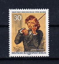 Berlin (West)  Briefmarken 1969 Hochschule für Musik  Mi.Nr.347 ** postfrisch