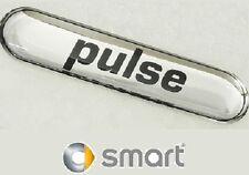 """2PZ SCRITTA """"PULSE"""" SMART FORTWO 450 451 ANNO 1998/2014 adesivo gomma ORIGINALE"""