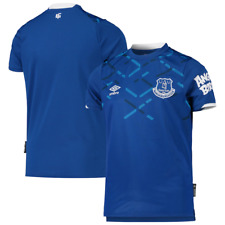 NWT KIDS YOUTH UMBRO EVERTON HOME FOOTBALL SHIRT/JERSEY.MED 10/12.BRAND NEW