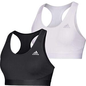 Womens Sports Bra Adidas Alphaskin Racerback Sport Bra NEW