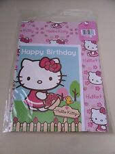 New  ~ Hello Kitty ~  Card, Gift Wrap & Gift Tag
