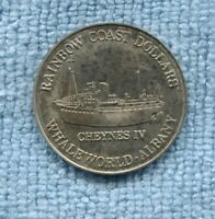 Albany Old Gaol & Whale world token Cheynes IV Rainbow Coast Dollar  B-26