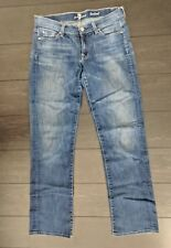 7 For All Mankind Blue Bootcut Size 28 Jeans