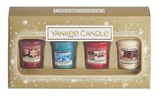 Yankee Candle 4 Votive / Sampler Christmas Gift Set - Xmas Gift Pack 2018
