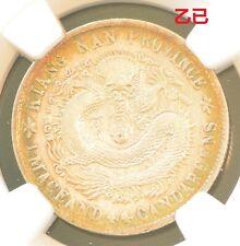 1905 China Kiangnan Silver 20 Cent Dragon Coin NGC L&M-264 XF Details