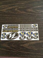 Vl Viewloader Vintage Nos Sticker Sheet