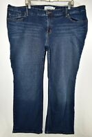 Torrid Relaxed Boot Cut Bootcut Stretch Jeans Womens Size 24 Blue Meas. 44x31