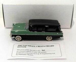 Pathfinder G&W Eng 1/43 GWE3 - 1962 Vauxhall Cresta Friary Estate Green/Black