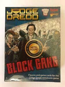 Warlord Games Judge Dredd Miniatures - Block Gang Set