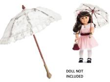 Samantha's lacy PARASOL american girl doll NEW IN BOX umbrella