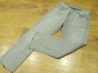 "Levi's 501, W33"", L32"" Straight Leg, Grey Denim Jeans, Rise 11"", Hem 18"" vgc"