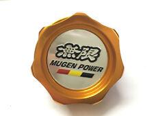 1Pcs Gold Mugen Power Aluminum Car Oil Filler Cap Racing Engine Tank Cover