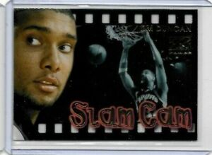 TIM DUNCAN 1997-98 SKYBOX Z FORCE SLAM CAM RC SAN ANTONIO SPURS