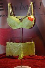 lingerie sexy ensemble soutien-gorge shorty taille 44/100B