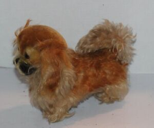 "Steiff Vintage Cocker Spaniel Dog 10"" 132200 Puppy Adorable Plush Stuffed Animal"