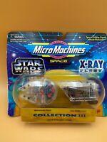 Star Wars III Micro Machines X-Ray Fleet Space Ship Toy Set - (Millennium Falcon