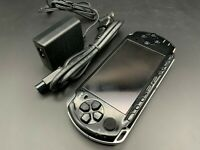 Sony PSP 3000 Launch Edition Piano Black Handheld System Console + Charger