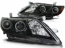 RINGS HEADLIGHTS LPTO10 TOYOTA CAMRY SALOON 6 XV40 2006 2007 2008 2009 BLACK