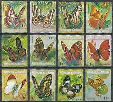 Timbres Papillons Burundi 553/76 ** lot 19365 - cote : 25,50 €