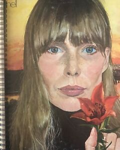 for the Joni Mitchell - Clouds 1969 Both Sides  vinyl fan!  ALBUM COVER NOTEBOOK