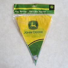 John Deere Flag Banner 12 ft Tractor Party Supply Birthday Green Farmer Banners