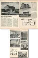 1957 House In Worcestershire Overlooking Blakedown Village Multon Architecture