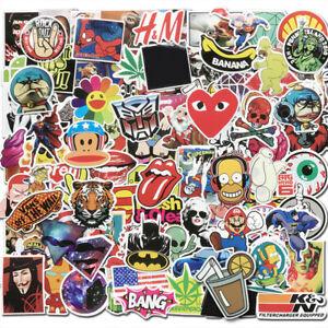100Pcs Sticker Pack Bomb Vinyl Graffiti Decal Dope Skateboard Luggage Laptop Car